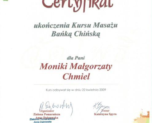 masaż bańką chińską Bydgoszcz Salon Kosmetyczny Monika Sulecka Calm Kosmetyka