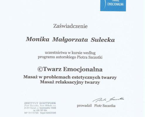 masaż relaksacyjny Bydgoszcz Salon Kosmetyczny Monika Sulecka Calm Kosmetyka