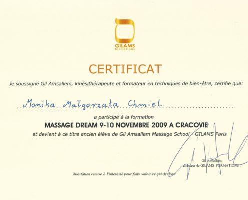 Gil Amsallem massage school Bydgoszcz Salon Kosmetyczny Monika Sulecka Calm Kosmetyka