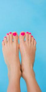 zabiegi na stopy Monika Sulecka pedicure manicure Calm Kosmetyka Bydgoszcz galeria opis zabiegu