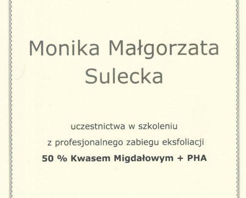 Kwas migdałowy PHA zabieg eksfoliacji Bydgoszcz