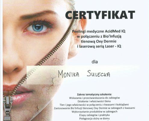 peeling AcidMed monduniq Bydgoszcz Salon Kosmetyczny Monika Sulecka Calm Kosmetyka