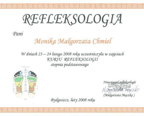refleksologia Bydgoszcz Salon Kosmetyczny Monika Sulecka Calm Kosmetyka