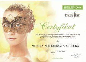 ideal skin Bielenda Bydgoszcz Salon Kosmetyczny Monika Sulecka Calm Kosmetyka