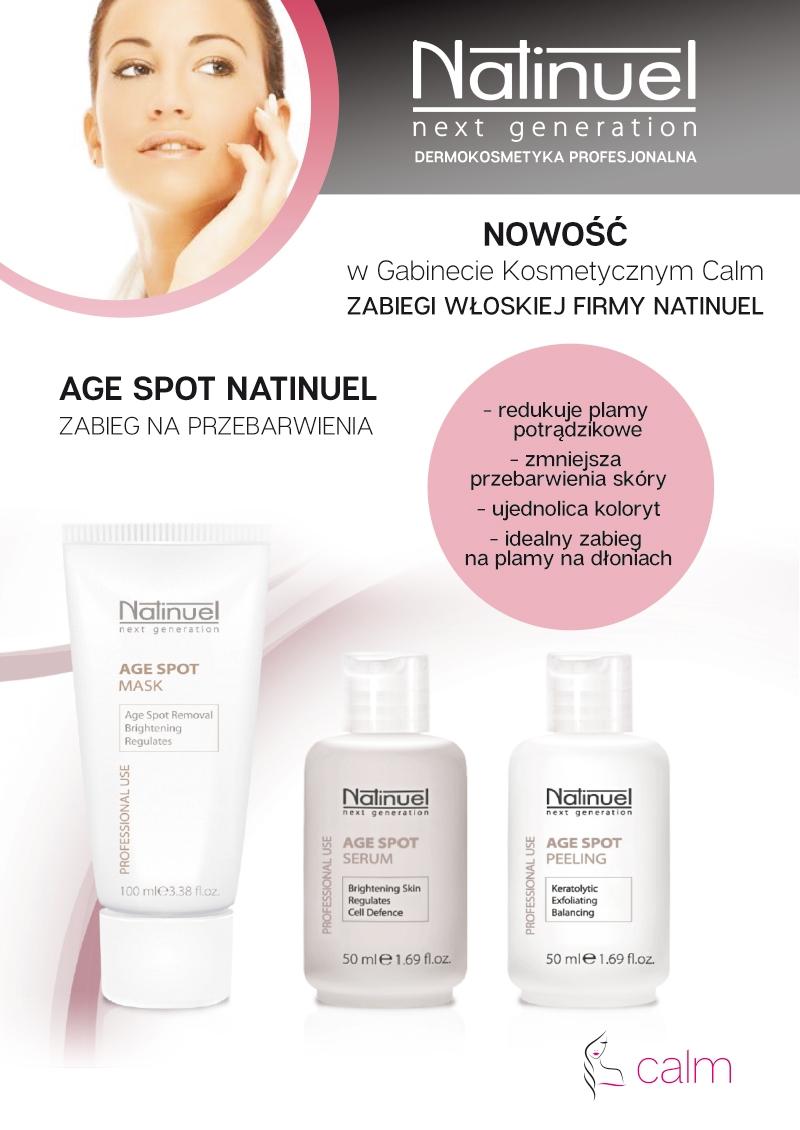 Natinuel dermokosmetyka profesjonalna Salon kosmetyczny Bydgoszcz Calm Monika Sulecka